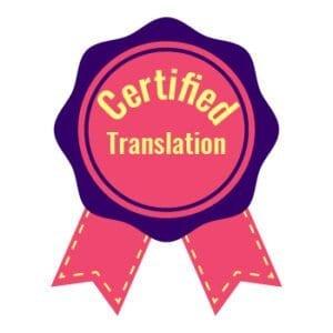 certified translation english to italian