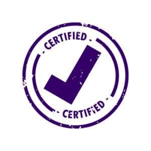 define certify