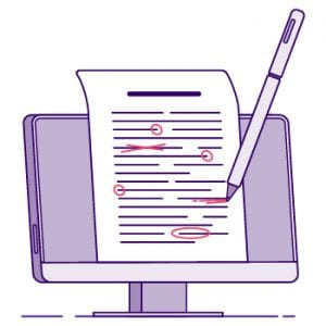 documents proofreading certification
